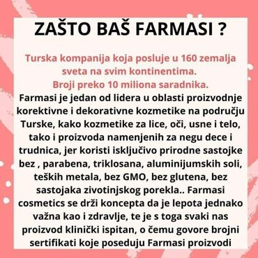 Zarada od kuce - Srbija: Pravo vreme za START je upravo sada !PROVERITE - po čemu se Farmasi