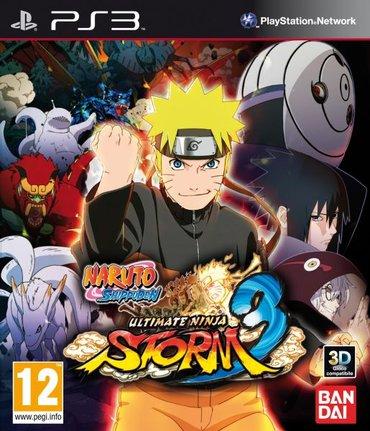 Bakı şəhərində Naruto Shippuden: Ultimate Ninja Storm 3 (Ps3)