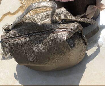 Кожаная сумка. Очень удобна и вместительна