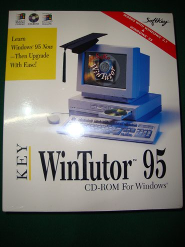 [ΣΥΛΛΕΚΤΙΚΟ] WinTutor 95 CD-ROM for Windows σε Patras