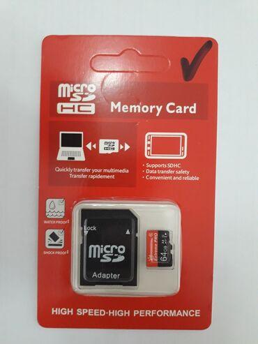 карты памяти sd для телефонов в Кыргызстан: Карта памяти Extreme PRO с адаптером.Флешка на 64 Gb.Карта памяти 10