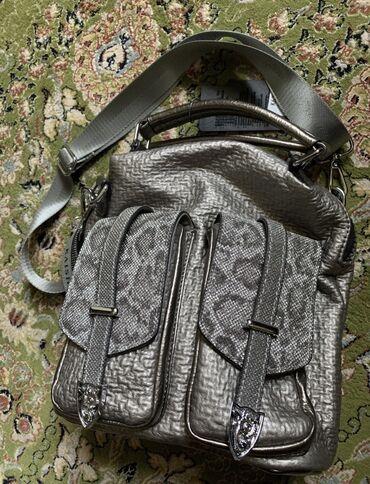Сумки - Бишкек: Рюкзак-сумка. Красивая и абсолютно новая