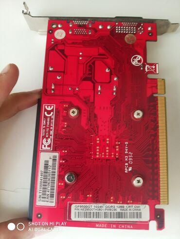 Видео карта GF9500GT 1024 DDR2 128B