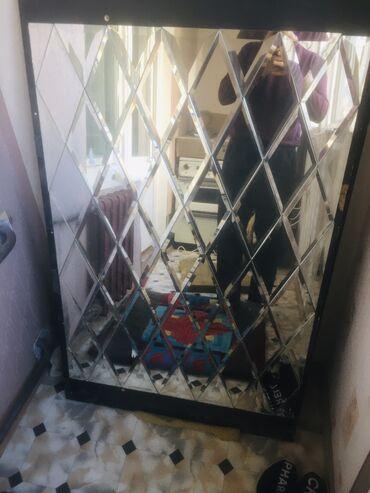 зеркала бишкек in Кыргызстан | АВТОЗАПЧАСТИ: Декоративная зеркало  сом за каждую самовывоз размеры 120х80 см