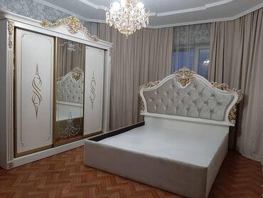 Гарнитуры - Кыргызстан: Продаю спальный гарнитур, новая, не пользовались! Отличное качество