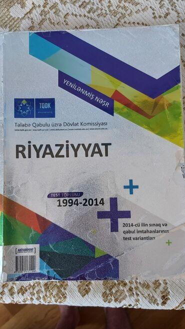 test-toplusu - Azərbaycan: Riyaziyyat test toplusu 4