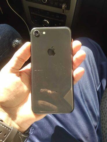 barter telefon - Azərbaycan: İşlənmiş iPhone 8 64 GB Qara