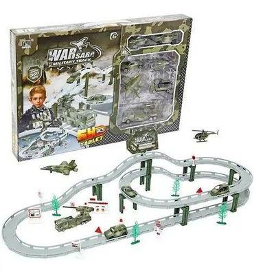 Военная машина автотрек. Роскошная игрушка для детей, позволяющая