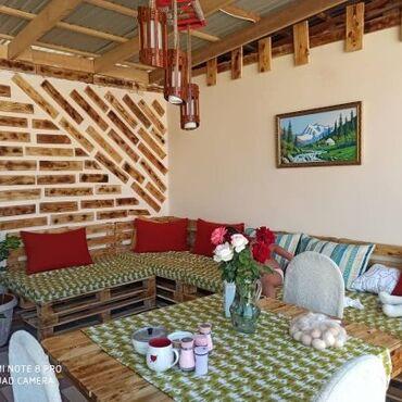 Недвижимость - Кемин: Продаю Отличный уютный домик 105кв.м, зимней терассой,во дворе
