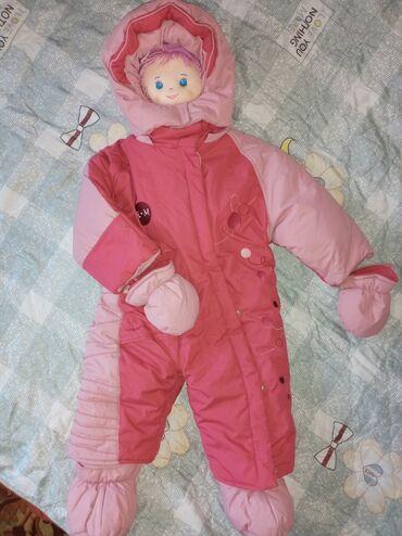 Детский мир - Кант: Г. Кант . Продаю детский зимний комбинезон. 9-24 мес