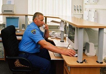 Требуется охранник на пульт охраны,бывший военный от40 лет график 6/1 в Бишкек