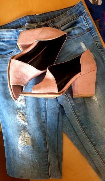 Maca - Zagubica: Cipele, puder roze, velur koža, broj 38, kupljene za specijalnu
