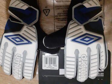  Stara Pazova: Golmanske rukavice Umbro dečije, nove. Veličine 5
