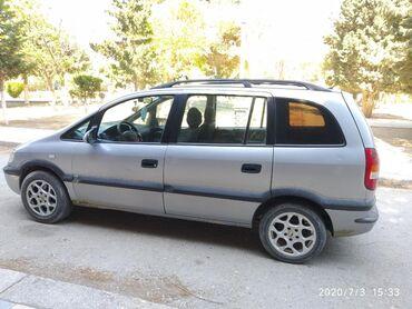 Opel Zafira 1.6 l. 1999 | 315000 km