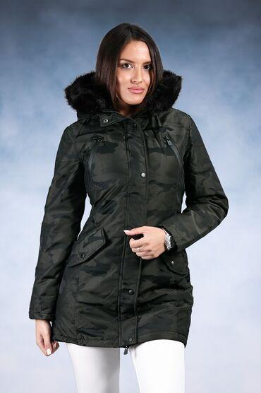 Zenski stofani vuneni mantic tsmno braon - Srbija: Kvalitetna zenska jakna dosta placena u butiku bez tragova nosenja XL