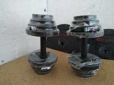 15х15 = 30 кг ГАНТЕЛИ в Бишкек