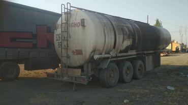 Прицеп бензовоза, алюминиевый, объём 41384 переделан на 39950 5 атсек
