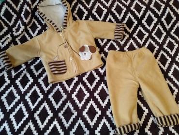 Продам теплый костюмчик в идеальном состоянии, осень-весна, на малыша