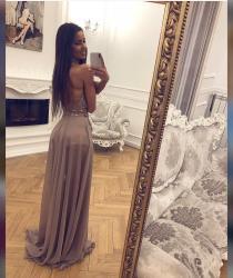 Diline haljina, jednom obucena za matusko vece, bez ostecenja. - Sombor