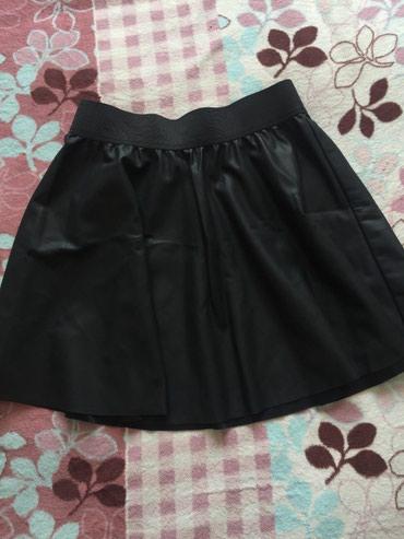 Кожаная юбка Размер М в Кант