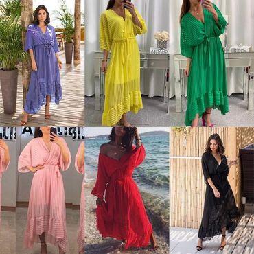 Ženska odeća | Vladicin Han: Divna haljina u raznim bojama  Velicina: univerzalna Cena: 2100 din
