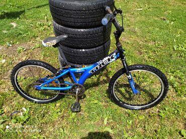 Спорт и хобби - Каинды: Продаю велосипед подросковыый,можно кататца с,8до 14лет прочный