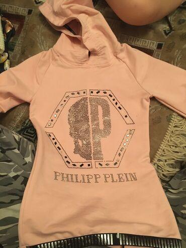 полосатая туника в Кыргызстан: Туника детская розовая для девочек Philipp Plein. От 3-4-5-6 лет. До
