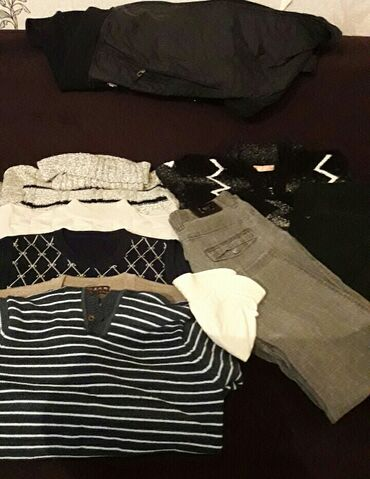 мужские вещи в Кыргызстан: Мужские вещи размер 48-52 состояние хорошее 4 зимней кофты 2