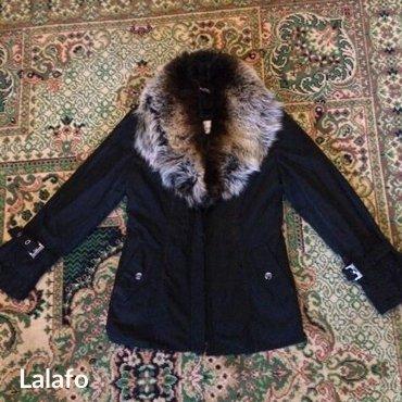 Зимняя куртка.Воротник-пицес/подклад-заяц. Сост-е хор. Размер 42-44