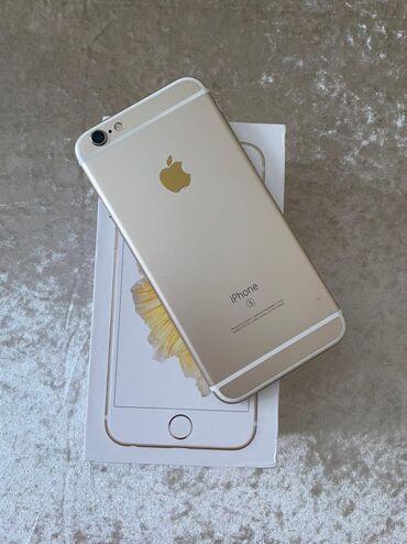IPhone 6s | 64 GB | Qızılı | Təmirə ehtiyacı var | Barmaq izi