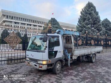 Манипулятор купить бу - Кыргызстан: Услуги кран манипулятор груза перевозки по республике