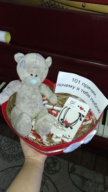 БЕЛЕКТЕР ПОДАРКИ  101 причин почему я тебя люблю  Мишка Тедди парные б