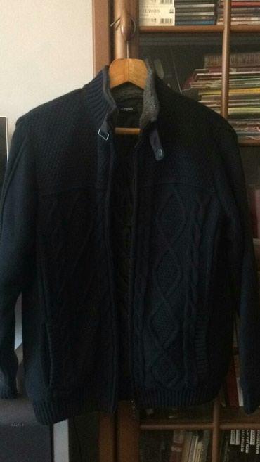 Куртка мужская вязанная с подкладом размер L , 1200сом (новая) в Бишкек