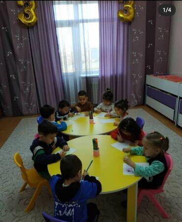 детские платья со шлейфом в Кыргызстан: Стол круглый детский НОВЫЙ!!!Для дома или детского