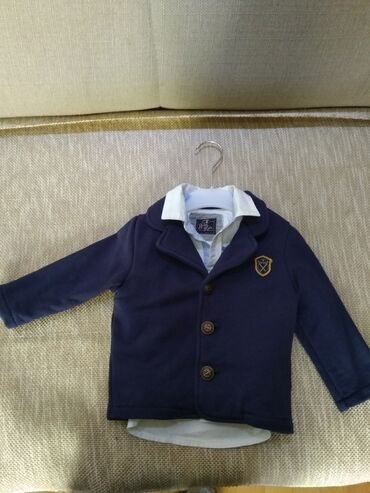 Dečije jakne i kaputi | Paracin: Sako i kosulja vel 1. beba kids. moze i odvojeno. jednom obuceno