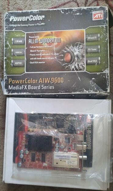 Продаю видеокарту AGP-8x 9600 со встроенным тв-тюнером