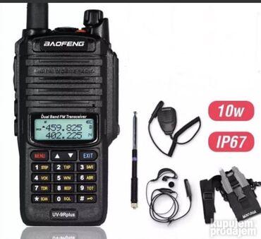 Motorola startac 70 - Srbija: VODOTPORNA kvalitetna radio stanica Baofeng UV 9R  FM RADIO BATERIJSKA