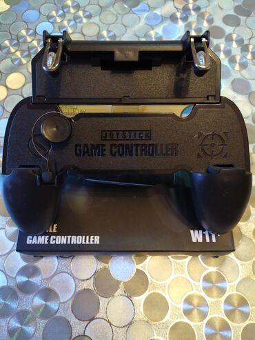 Новые джойстик W11+ с коробкой с двумя кнопками металл,для игр