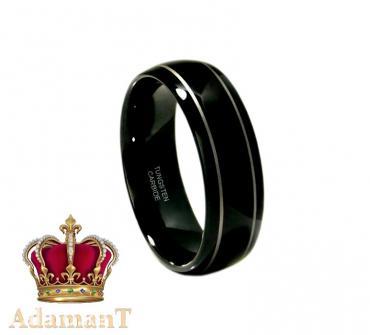 Чёрное кольцо из вольфрама в Бишкек