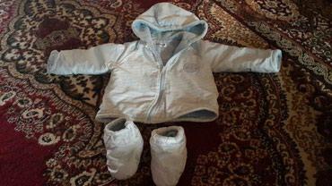 Xırdalan şəhərində Kurtka balonka ici tuklu isti ayaqqabi ile birge  ela veziyyetde cemi