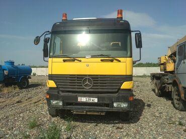 Грузовой и с/х транспорт - Кант: Продаю автобетоносмеситель -помпа  2000год 24метра 7кубов