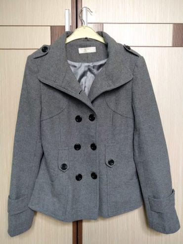 Стильная и качественная серая куртка в Бишкек