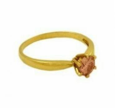 Кольцо с розовым бриллиантом в Бишкек