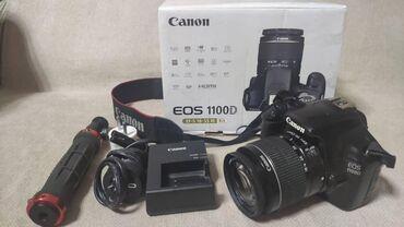 фотоаппаратов в Кыргызстан: Продаю фотоаппарат Canon 1100D Состояние хорошее. Все работает. В комп