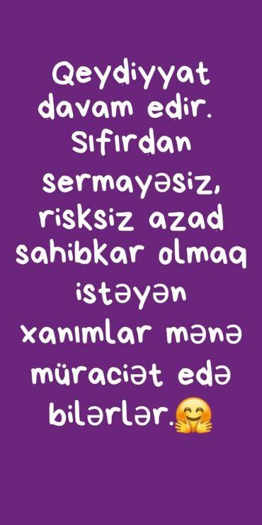 büküklü qadın papaqları - Azərbaycan: Marketoloq. İstənilən yaş. Natamam iş günü. Binəqədi r-nu