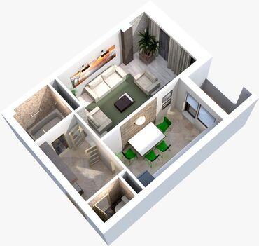 Срочно!!!!!!!!!!!!!Продается однокомнатная квартира в 7мкр за гипермар