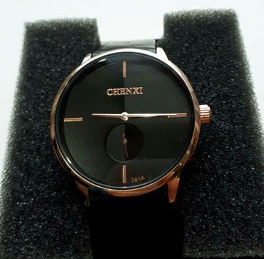 Мужские Черные Классические Наручные часы  в Бишкек