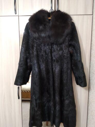 платье футляр 50 размер в Кыргызстан: Продаю шубу. Мех: шуба - нутрия, воротник - песец.50 размерТорг