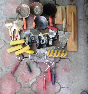 Шпатели - Кыргызстан: Строительный инструмент: тёрка деревянная (120 мм/200 мм), полутёрок д