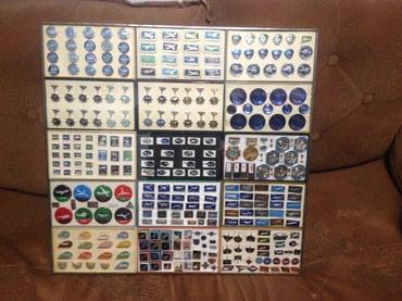 Продается колекция значков на тему в Бишкек